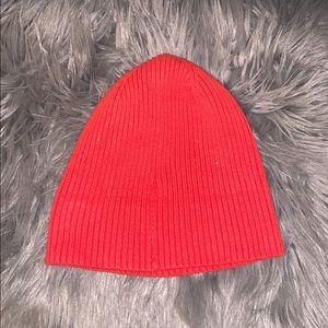 Orange street wear hats